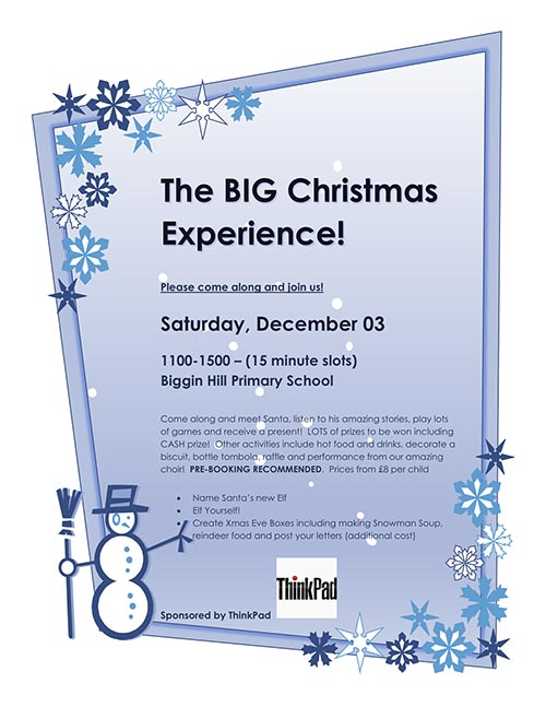 The BIG Christmas Experience