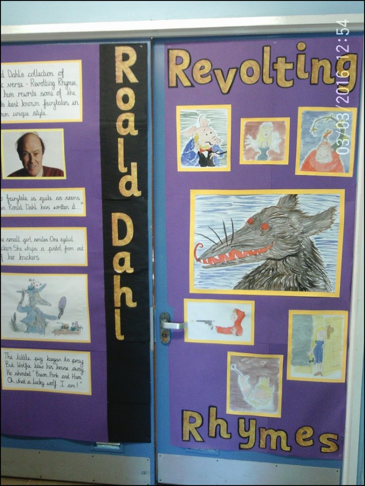 Roald Dahl Classroom Doors Photo Gallery Biggin Hill