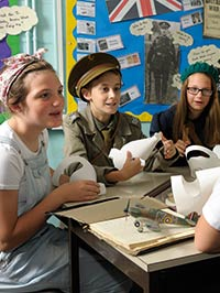 History on the curriculum at Biggin Hill Primary School, Bromley
