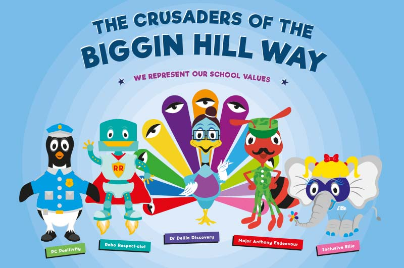 The Crusaders of the Biggin Hill way
