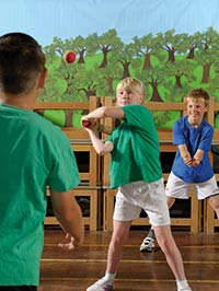 PE on the curriculum at Biggin Hill Primary School, Bromley